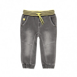 a 8 - PANTALON BEBE NIÑO DENIM GREY 'REVIVAL' DE BOBOLI
