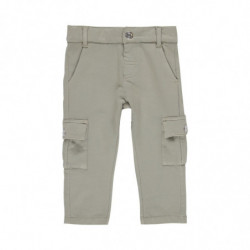 a 98 - PANTALON BEBE NIÑO BEIGE 'JUNGLE EXPLORER' DE BOBOLI
