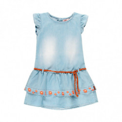 e 19 - VESTIDO NIÑA DENIM 'WHEAT FIELD' DE BOBOLI